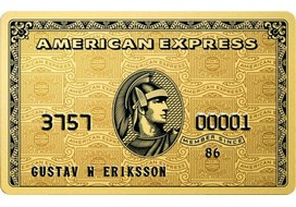 Exemple carte bancaire American Express